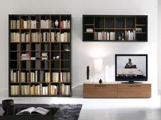 A great bookcase for a modern house