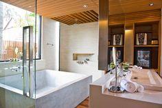 Contemporary Two Person Bath Tub