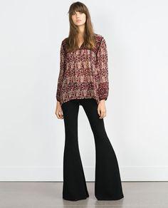 Imagem 1 de BLUSA ESTAMPADA da Zara