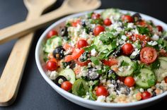 Greek Pearl Couscous Salad