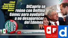 DiCaprio se reúne con Delfina Gómez para ayudarla a no desaparecer del E...