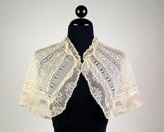 Collar Date: ca. 1835 Culture: French Medium: Cotton