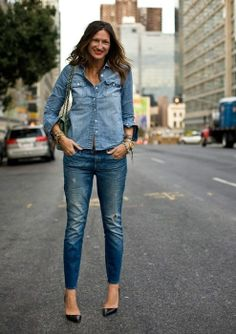 denim on denim  http://markdsikes.com/2013/01/06/denim-on-denim/
