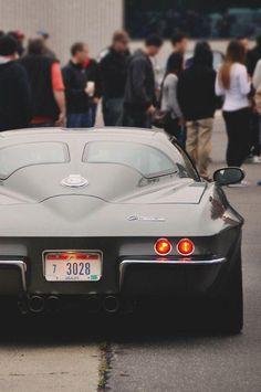 #Chevrolet #Corvette C2 with a split window! #Classic #Beauty #SportsCar #Style