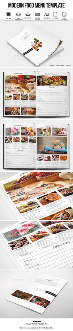 Menu design, Fonts and Creative on Pinterest - menu design template