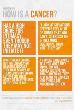 How is a #Cancer...