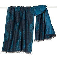 Peacock Feather Jacquard Shawl - shopPBS.org