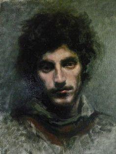 """Fipsi Seilern; Painting, """"Fabio"""""""