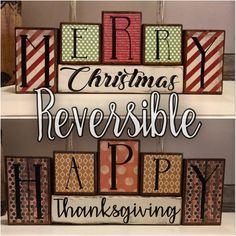 Christmas Blocks, Christmas Wooden Signs, Holiday Signs, Christmas Projects, Christmas Wood Block Crafts, Merry Christmas Signs, Christmas Porch, Christmas Stuff, Christmas Lights