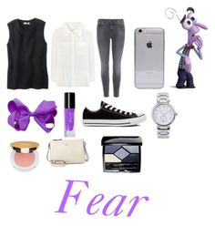 """""""Inside Out fear"""" by aleena2400 ❤ liked on Polyvore featuring J Brand, Chloé, Converse, Isaac Mizrahi, Michael Kors, Kate Spade and Christian Dior"""