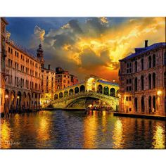 Easy Painting of Italy | TUSCANY ITALY PAINTINGS
