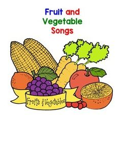 fun songs to teach students about fruits and vegetables check out my guided reading books