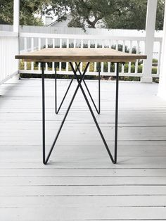 MODERN Soirée Tables - Table Rentals for your wedding or event!