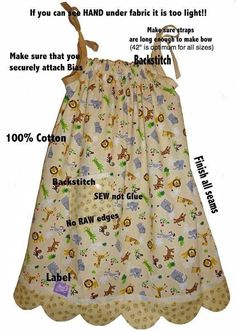 Dress a girl from around the world, pillowcase dress or peasant dress instructions Girl Dress Patterns, Blouse Patterns, Skirt Patterns, Sewing For Kids, Baby Sewing, Operation Christmas Child, Dress Tutorials, Pattern Drafting, Little Girl Dresses