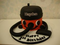 happy first birthday henry hoover cake