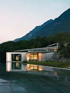 Casa de concreto em Monterrey by Tadao Ando