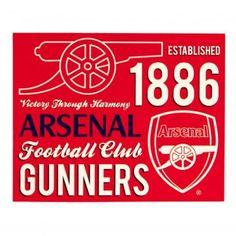Arsenal F.C. Sherpa Fleece Blanket