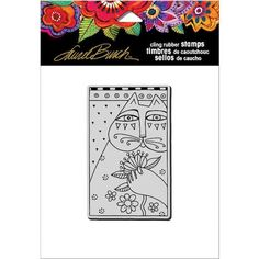 Stampendous LBCP016 Feline Cup Cling Rubber Stamp