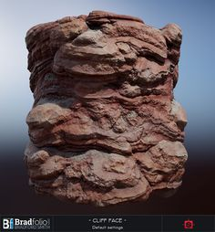 Polycount's Weekly Substance Challenge #8: Red Rock Cliff Face | Substance Designer | Gallery and Mini Tutorial