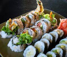 Yes, I know everybody LOVES shushi sandwiches, but I really do enjoy sushi