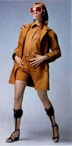 French fashion 1960's, mode, Haute couture, Paris, 1967 Yves Saint Laurent