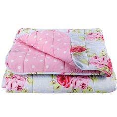 Rose Print Bedspread from Cath Kidston | Vintage bedroom accessories | Vintage decorating | Vintage Bedrooms | PHOTO GALLERY
