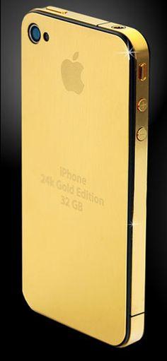 @Barbara Moreno Elegante Color Dorado - Gold!!! iPhone