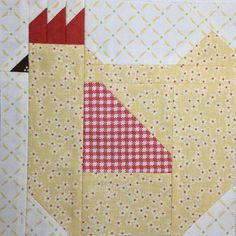 Happy Friday! Mama Hen from Farm Girl Vintage book by Lori Holt