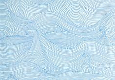 Wallpaper-Seascape Summer, Abigail Edwards/Tapetorama