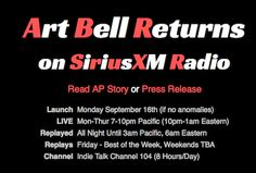 Resistance is Futile. We are returning! Check out http://artbell.com for link to media reports.