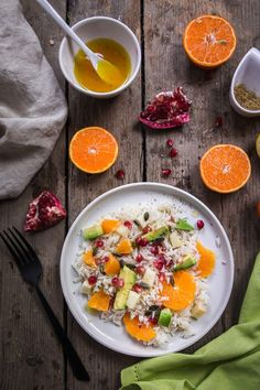 Salade de riz orange avocat – Cuisine moi un mouton