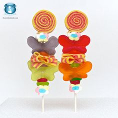 Butterfly Candy Kabobs by Sweets Indeed