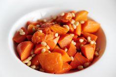 How to Green   Рецепт морковного салата красоты с печеной тыквой
