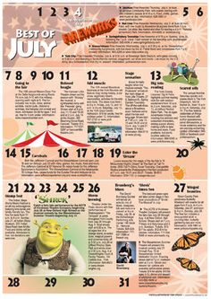 Best of July York Weekend entertainment calendar