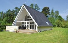 Architecture – Enjoy the Great Outdoors! A Frame House Plans, A Frame Cabin, Modern Small House Design, Modern House Plans, Building A Small House, Tiny House Cabin, Small Buildings, Stone Houses, House Layouts