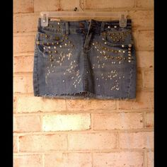 Dresses & Skirts - Studs jean skirt