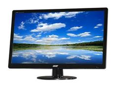 "Acer S Series S230HL Abd Black 23"" 5ms Widescreen LED Monitor 250 cd/m2 ACM 100,000,000:1"