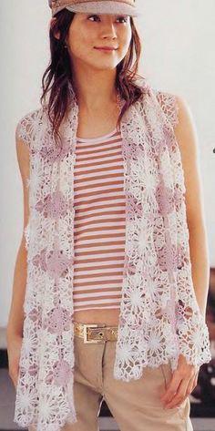 Schema Stola Crochet
