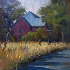 ON MY WAY by Donna Shortt Oil ~ 20 x 20