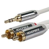 I recommend Monoprice to all my friends for cable needs - Audio,Video and adapters... great products at a great price!