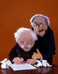Jim Henson - The Muppet Master Grumpy Old Men, Grumpy Cat, Jim Henson, Statler Et Waldorf, Sesame Street Characters, Cartoon Characters, Pet Turtle, Muppet Babies, Fraggle Rock