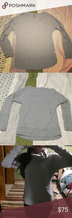 Lululemon high neck sweater Lululemon high neck sweater lululemon athletica Sweaters Crew & Scoop Necks