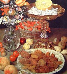 Fine Art Visual Therapy ~ Serafini Amelia ~ Georg Flegel German Still Life Painter Painting Still Life, Still Life Art, Fruit Painting, Bunch Of Flowers, Vanitas, Rembrandt, Food Art, Art History, Renaissance