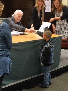 Jimmy Page & fan | LA Nov 2014