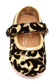 Leopard Glitter Tiny Classic Mary Jane