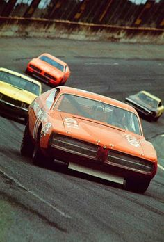 Classic Car News Pics And Videos From Around The World Nascar Cars, Nascar Racing, Dirt Racing, Auto Racing, Dodge Muscle Cars, Best Muscle Cars, Vintage Racing, Vintage Cars, Road Race Car