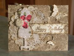 Shabby Chic Dolled Up Birthday by Sylvaqueen - Cards and Paper Crafts at Splitcoaststampers