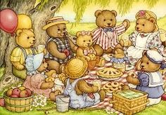 HappilyDomestic- Frugal Teddy Bear Picnic Party!  Lots of ideas here.