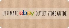 eBay Outlet Store Guide: Get discounts & savings of up to 80%