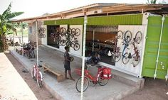 Laura Laker: Discarded bikes are getting a second chance at life, thanks to recycling projects that refit bikes for sale or donation to Africa